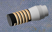 Polymer pipe protector - designed for the oil and gas industry